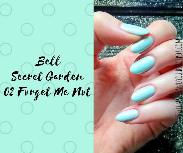 Bell Secret Garden 02 Forget Me Not