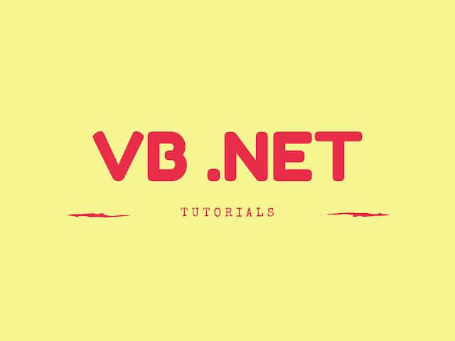 VB.NET Tutorials PDF and eBooks