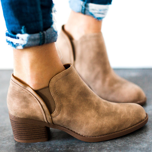Jane: Booties only $28 (reg $70)!
