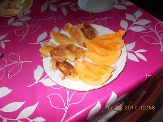 caramelle salate ai wurstel-  prosciutto cotto e formaggio- lasagne al forno vegetariane - spezzattino di agnello con patate