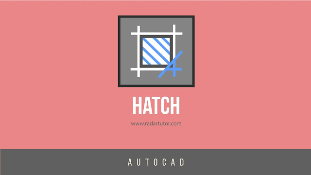 AutoCAD drawing tools: Hatch