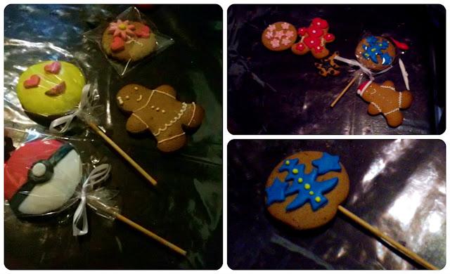 biscoitos decorados com pasta americana