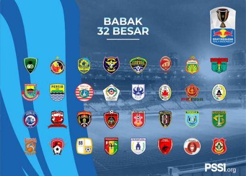 Hasil Drawing Babak 32 Besar Piala Indonesia 2018
