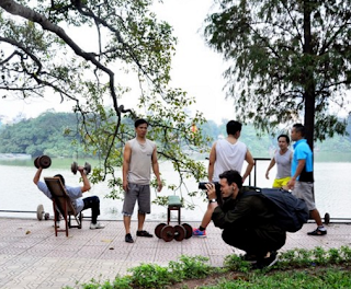 Exercising – From a habit to Hanoi's culture piece 1