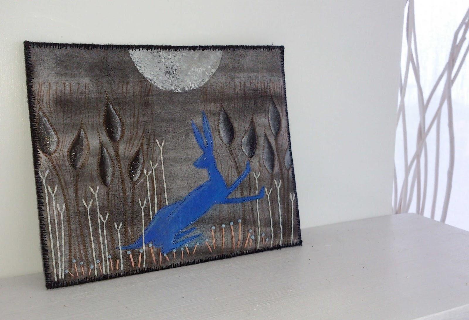 textile art by Deborah O'Hare