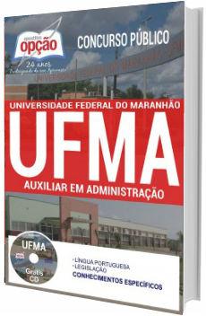 Apostila UFMA 2017 Auxiliar em Administração