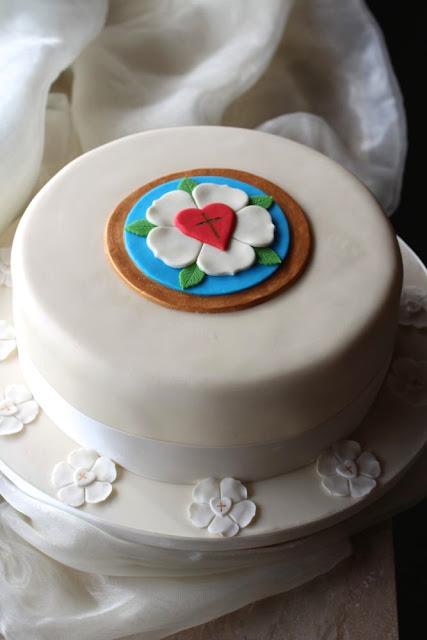 Konfirmationstorte - Confirmation Cake