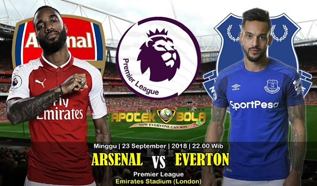 Prediksi Arsenal VS Everton 23 September 2018