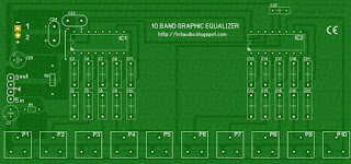 10 Band Graphic Equalizer parts
