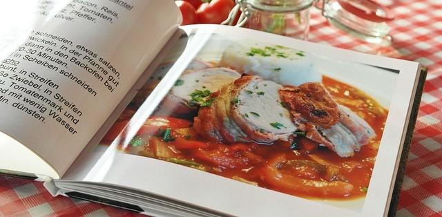 Cookbook Opened