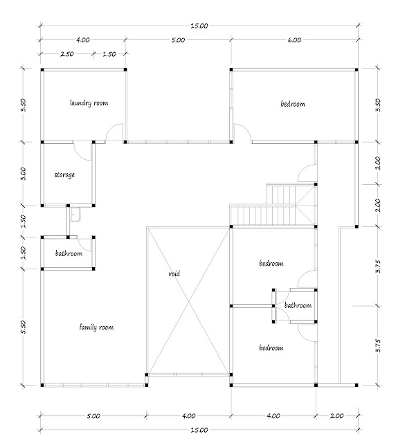 House with floor area of 300 square meters - 04
