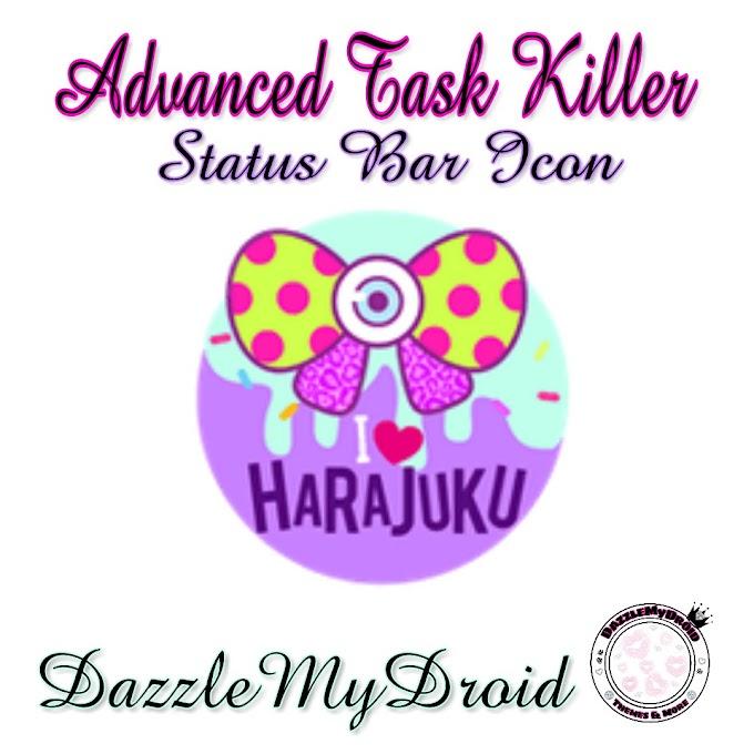 Advanced Task Killer Status bar Icons