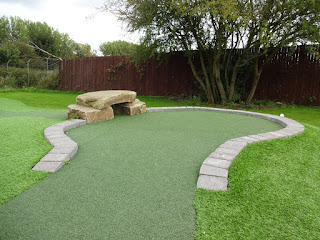 Mini Golf course at Liverpool Golf Centre