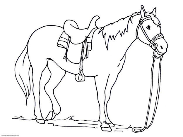 Coloring Sheets Of Horse  Coloring Pages Horse Coloring Pages Amazing Of  Awesome Realistic Horse