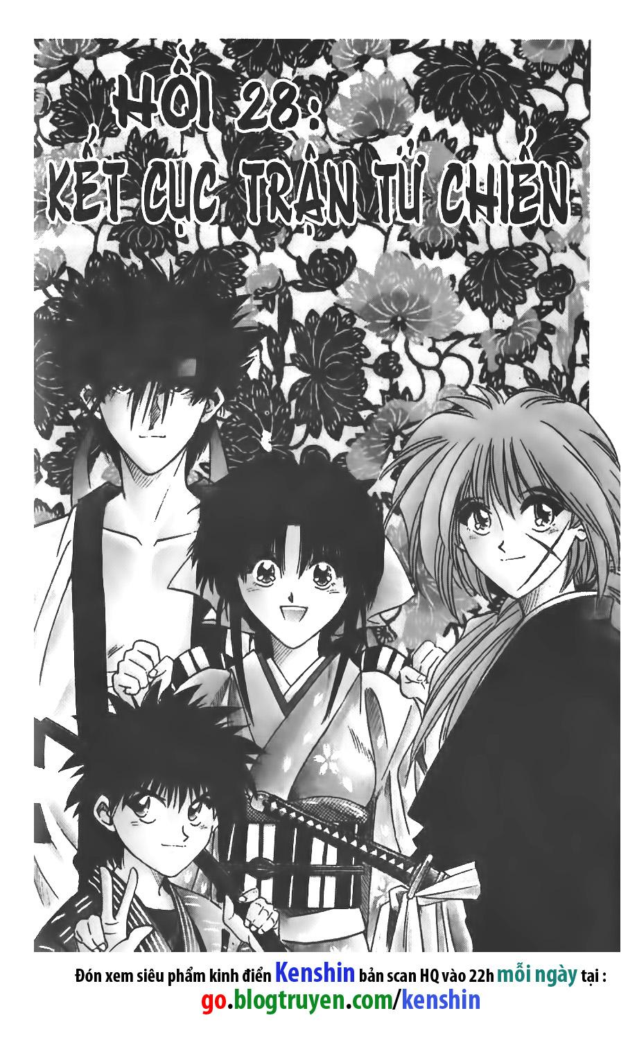 Rurouni Kenshin chap 28 trang 1