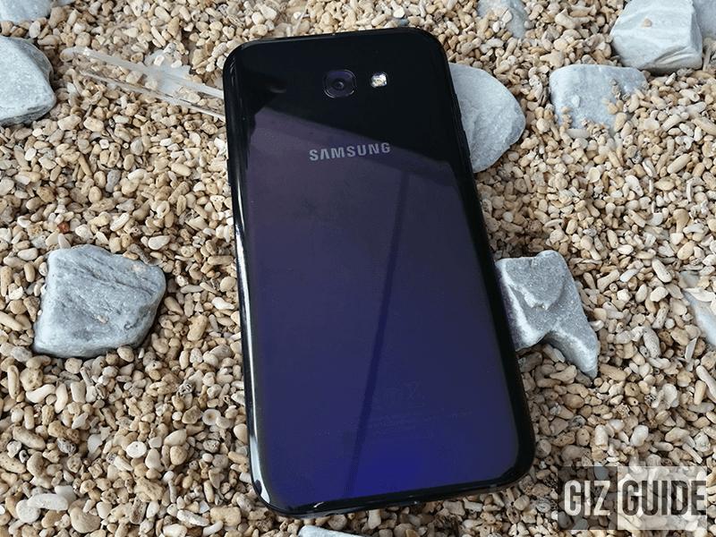 Samsung Galaxy A5 (2017) A7 (2017) Nougat update