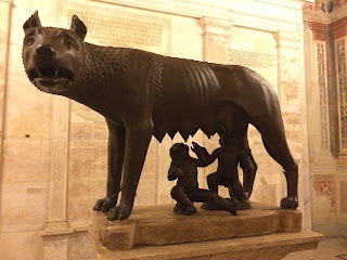 She-wolf Lupa in the Musei Capitolini