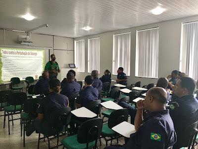 Alagoinhas: Ação Integrada no combate à poluição sonora: Secretaria de Desenvolvimento e Meio Ambiente oferecem capacitação à Guarda Municipal