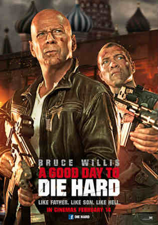 A Good Day to Die Hard 2013 BRRip 300MB Hindi Dual Audio 480p Watch Online Full Movie Download bolly4u