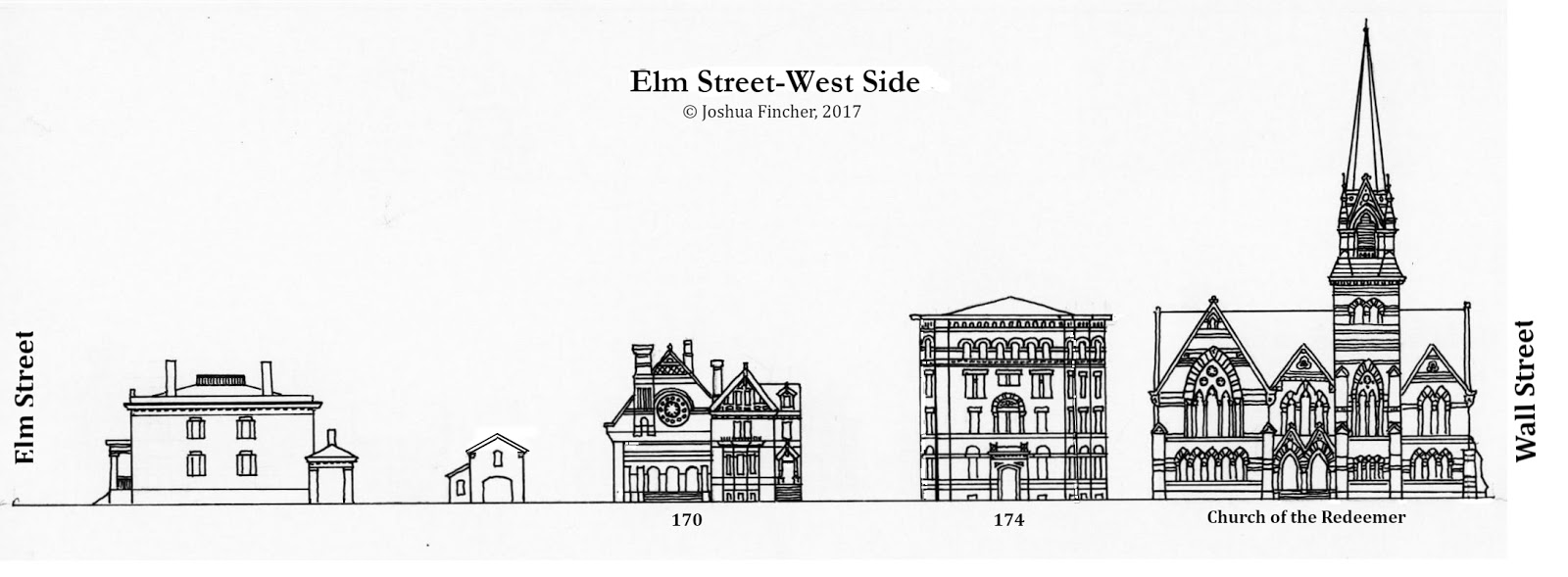 New Haven 1879-An Architectural Guide: Orange Street