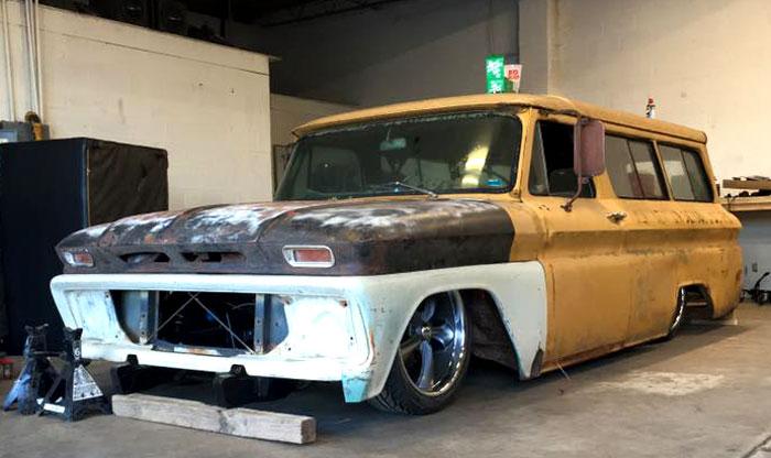 Rodcitygarage 1966 Chevrolet Suburban Ratrod Project