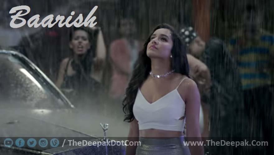 Baarish CHORDS + STRUMMING Ash King : Half Girlfriend Shraddha Kapoor, Arjun Kapoor - TheDeepak.Com