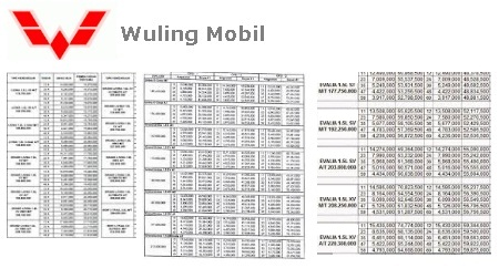brosur paket kredit mobil wuling confero