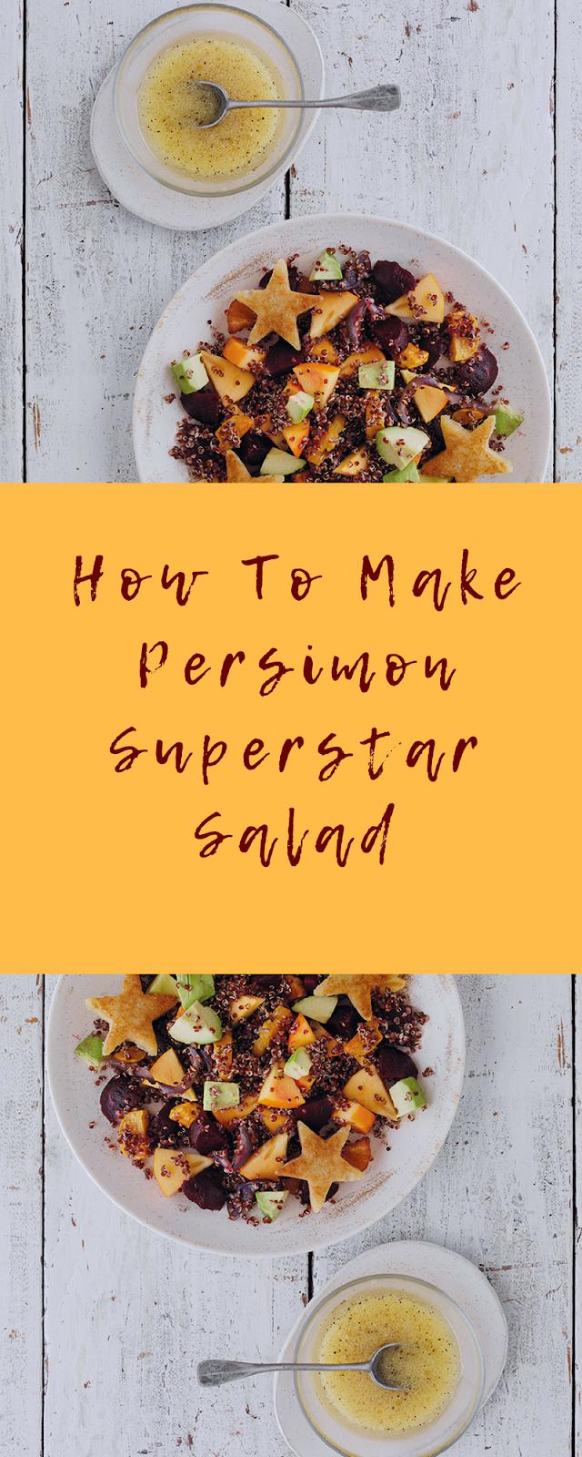 Persimon Superstar Salad