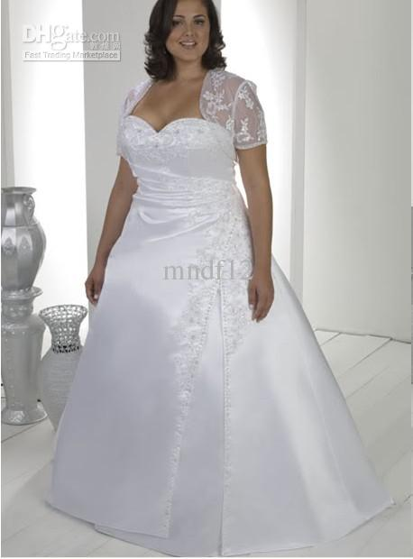 shapely plus size wedding dress voluptuous curve