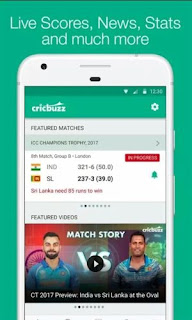 CRICKBUZZ App