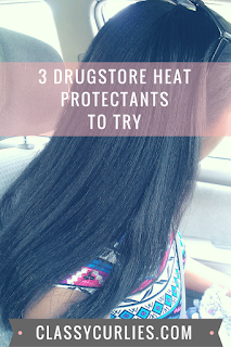 drugstore hair heat protectant