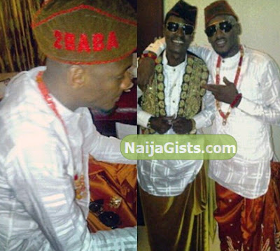 2face annie idibia traditional wedding