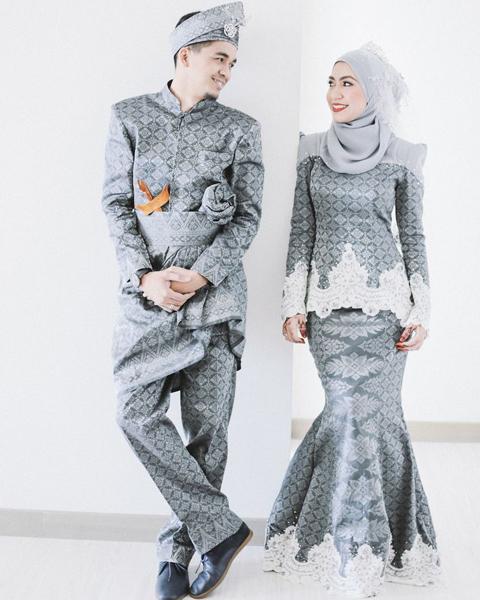 model baju kain songket modern
