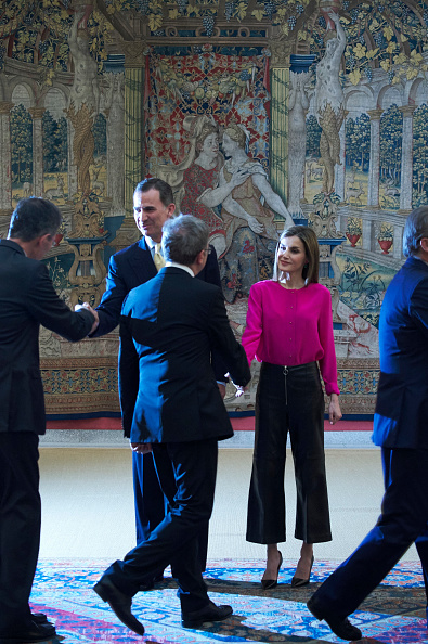 Royal Family Around the World: Spanish Royals Meet ...