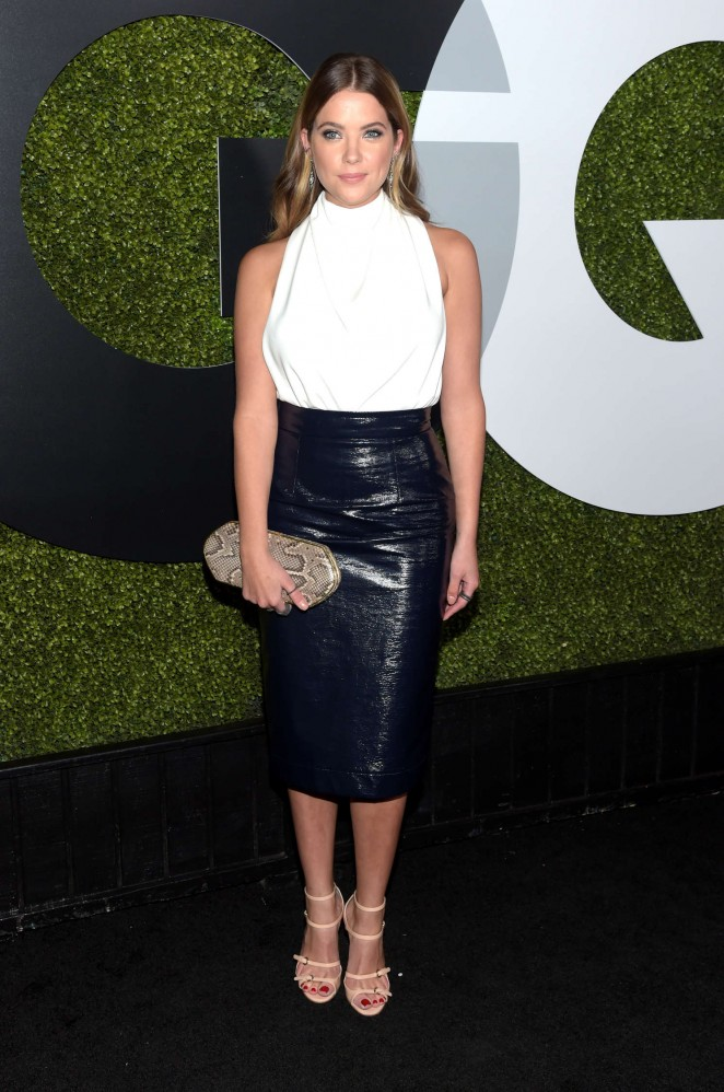 Ashley Benson - Sexiest Celebrities at the GQ Men of the Year Party 2015 in LA