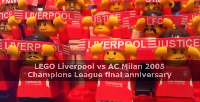 Lego revive la Final de Champions Milan - Liverpool