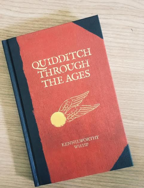 Book Review: Quidditch Through the Ages by J.K. Rowling