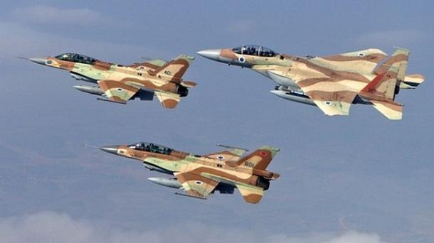 Aviones de Combate Israelíes