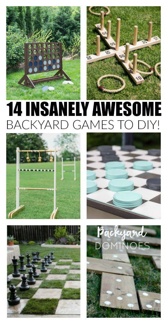 14 Insanely awesome backyard games to DIY