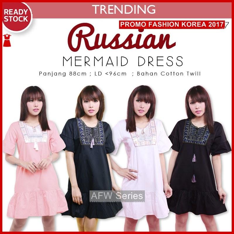 BAMFGW125 Russian Ethnic Dress Wanita PROMO BMG