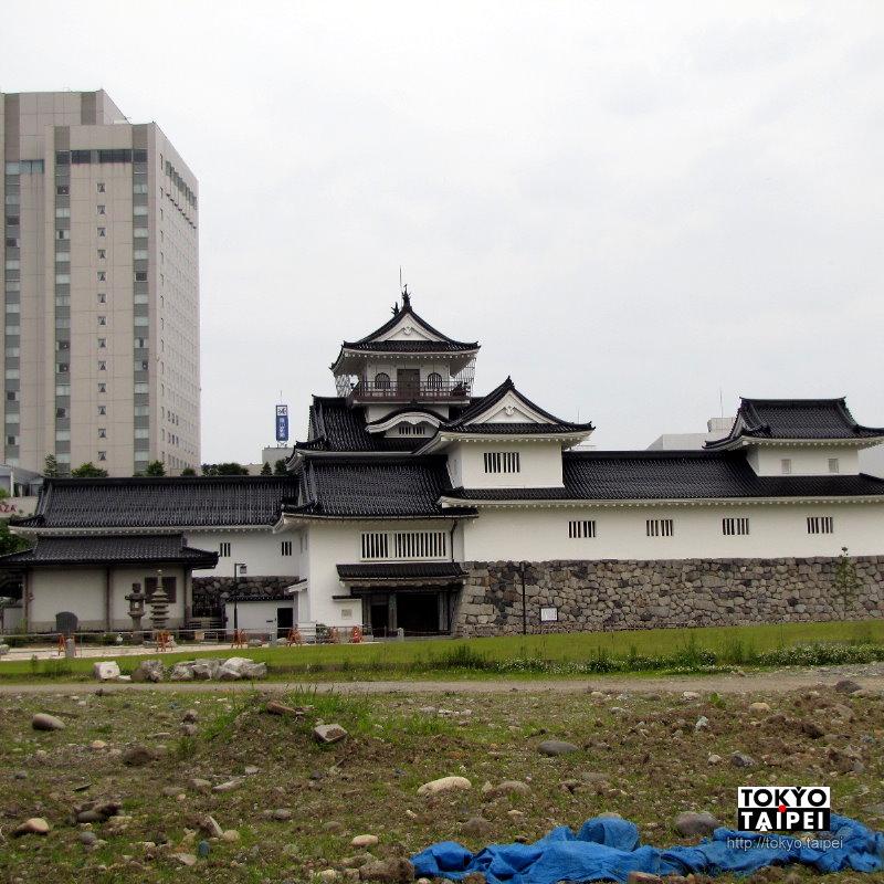 【富山城】護城河真的是一條河 重建的城堡變博物館和美術館