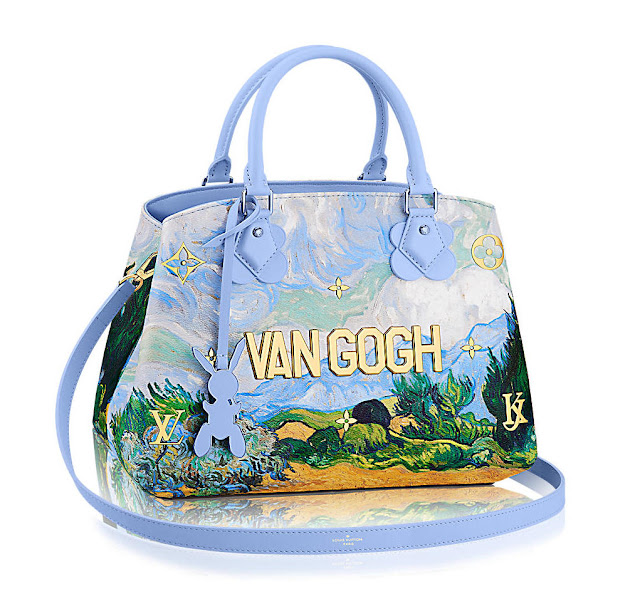 Louis Vuitton x Jeff Koons - Van Gogh Montaigne handbag