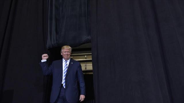 Trump: Mi victoria será fin de corrupción que representa Clinton