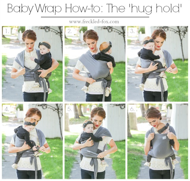The Freckled Fox Classic Baby Wrap How To A Happy Baby Wrap Giveaway