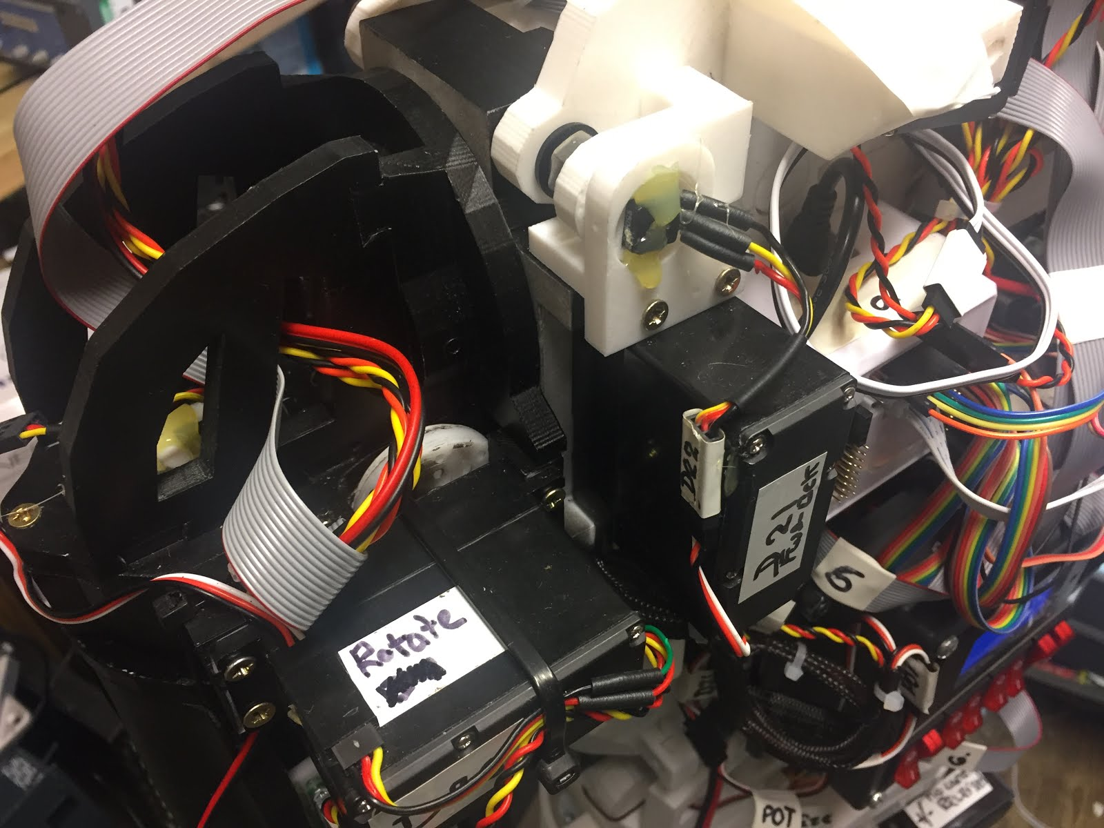 Inmoov Control System Servo Wiring Diagram Http Wwwezrobotcom Community Forum Posts Finally With The Back Cover On I Am Printing A Plates For Top Section And Surround Plate Power Switch Box Plus Some Blanks Two