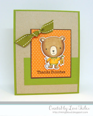 Thanks Bunches card-designed by Lori Tecler/Inking Aloud-stamps and dies from My Favorite Things