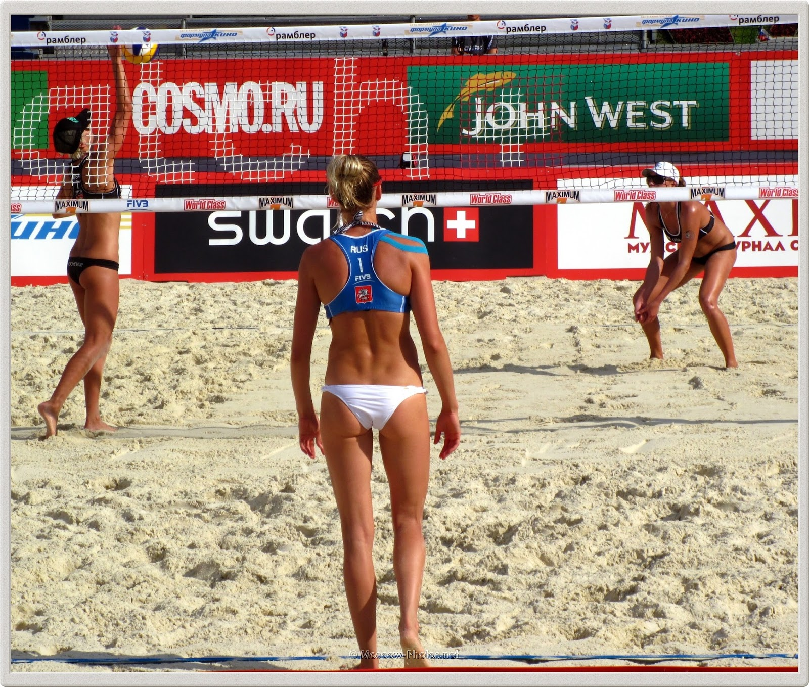 FIVB Beach Volleyball Swatch World Tour. Grand Slam Moscow.