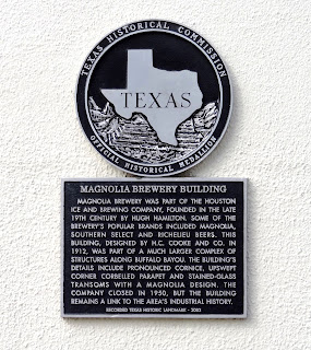 Magnolia Brewery Building Texas Historical Commission Marker
