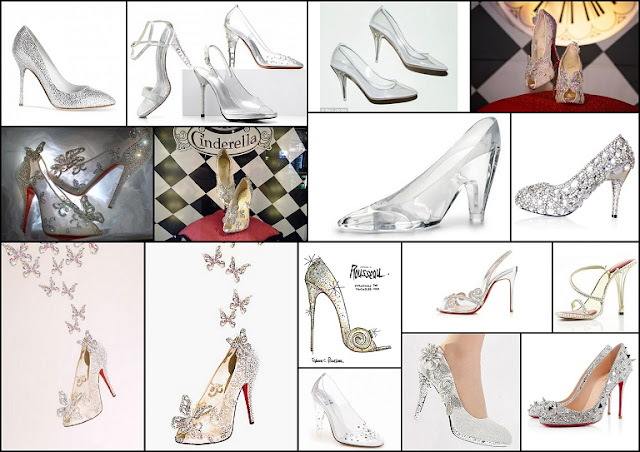 Images of Chrystal Shoes for your Quinceanera.