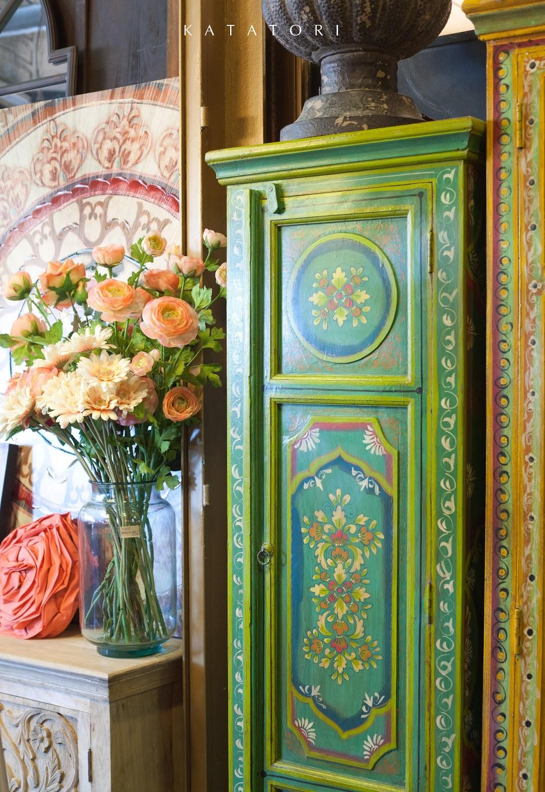 Katatori interiores muebles pintados a mano - Disenos muebles pintados ...